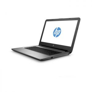 New Open Boxed HP Notebook 14-AC108NA, Grey 14″ HD Laptop, Intel® Celeron® N3050 Dual Core upto 2.16GHz, 2GB DDR3 RAM Memory, 500GB Hard Disc Drive, Intel HD Graphics, Super Multi DVD Burner, Bluetooth 4.0, HDMI, SD Card Reader, DTS Studio Sound™ with 2 Speakers, Windows 10 Home, ENERGY STAR® Certified